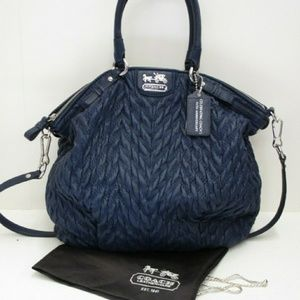 Coach 70th Anniv Madison Quilted Lindsey Satchel